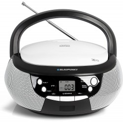 Blaupunkt B 3 PLL BK Boombox con radio/Lettore CD/MP3 (ERP2, Display LCD, retroilluminazione) nero